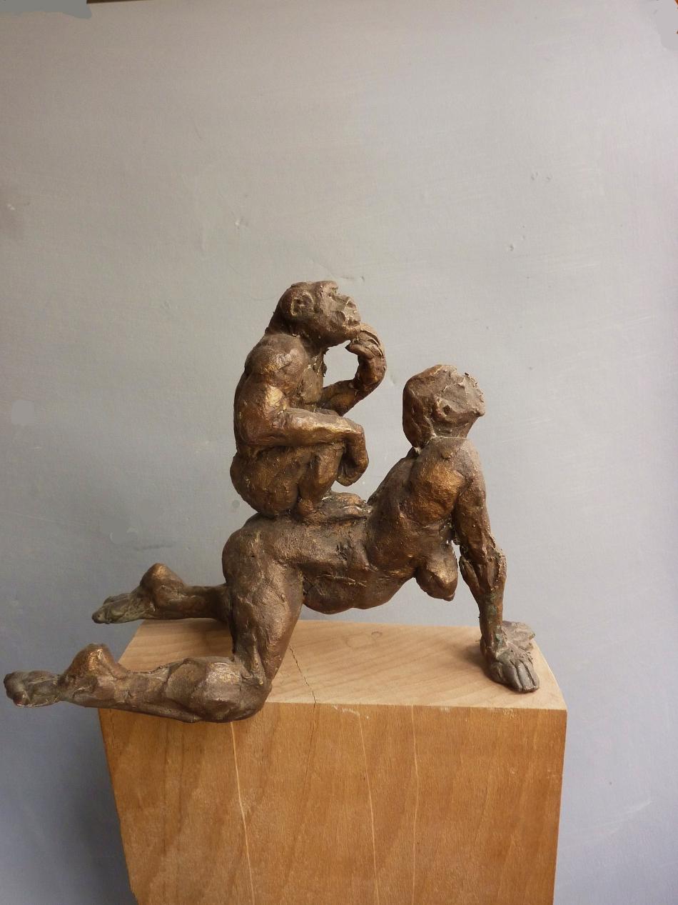25.Ritt1- Bronze, h 16cm